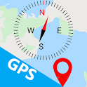 GPS Map, Navigate, Locations & Address icon