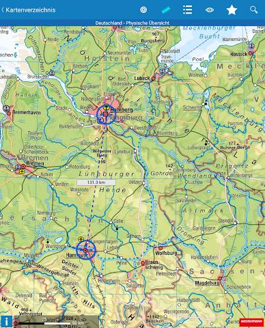 android Diercke Weltatlas digital Screenshot 6