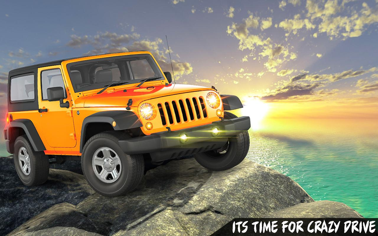 Offroad Jeep Driving: Paradise- screenshot