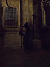 Photo: Poutnik. Teda jen jeho stin.