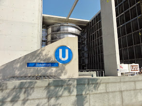 "Photo: ""Kanzlerin-U-Bahn"" (U55)"