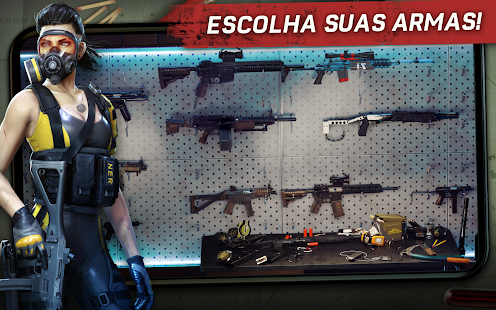 Left to Survive: PvP Jogo de tiro com zumbis Screenshot
