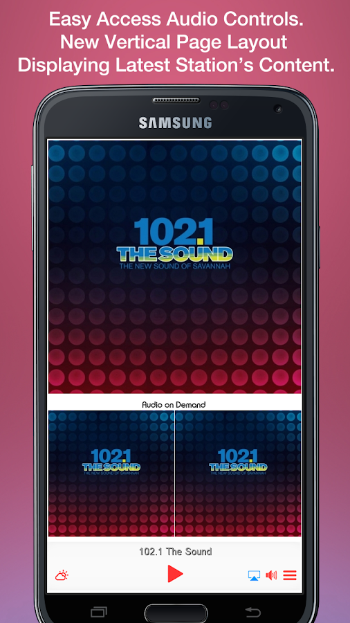 102.1 The Sound- screenshot