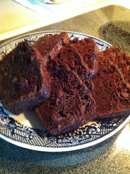 Double-chocolatey Zucchini Nut Bread Recipe