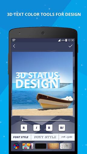 3D Name on Pics - 3D Text 8.1.1 screenshots 8