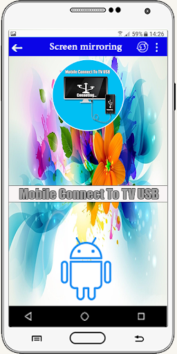 Connector Tv ( usb-otg-hdmi-mhl-connect phone ) screenshot 2