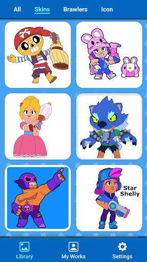 Coloring for Brawl Stars modavailable screenshots 16