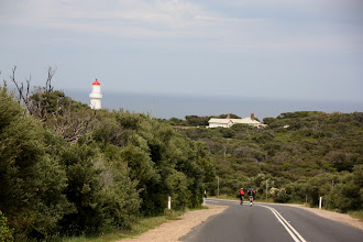 Photo: Year 2 Day 152 - Rog and Glenys on the Way to the Lighthouse