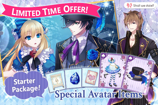 Lost Alice in Wonderland Shall we date otome games 1.2.8 screenshots 22