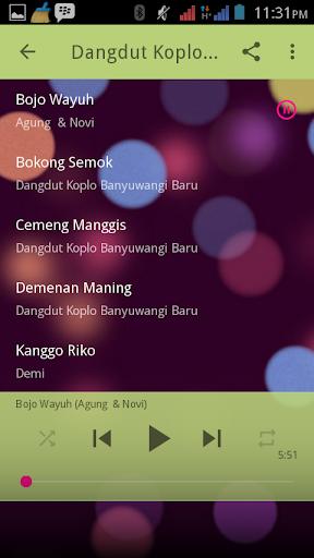Dangdut Koplo Banyuwangi Baru for PC