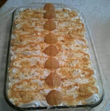 """Simply Divine"" Banana Cream layered dessert"