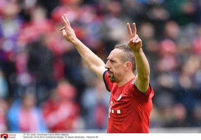 La Fiorentina confirme les contacts avec Ribéry