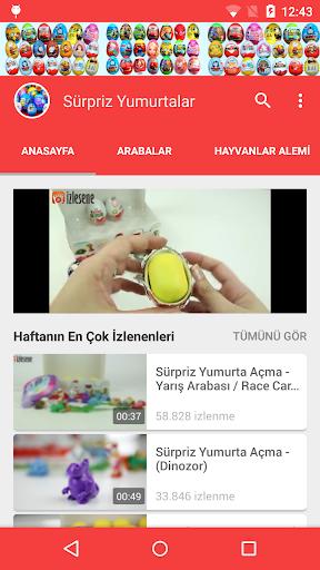 Sürpriz Yumurta Videoları