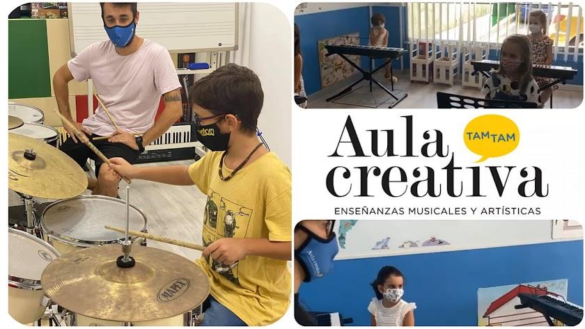 Las enseñanzas musicales con mas ritmo en Aula Creativa de Música Tam Tam.