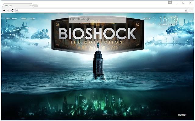 Bioshock Wallpaper HD New Tab Themes Free Addons