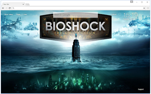 Bioshock Wallpaper HD New Tab Themes