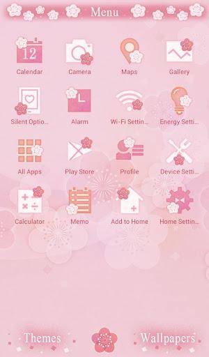pink Theme Japanese Floral 1.0.0 Windows u7528 2