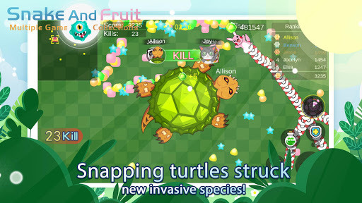 Snake And Fruit:Multiple Game Collections androidiapk screenshots 1
