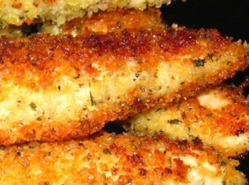 how to cook chicken with panko bread crumbs