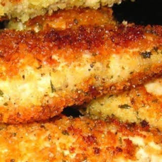Chicken Tenders With Panko Breadcrumbs.