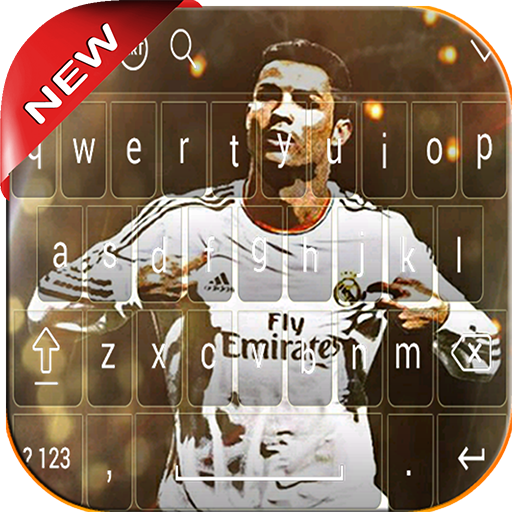 NEW Keyboard For Cristiano Ronaldo 2018