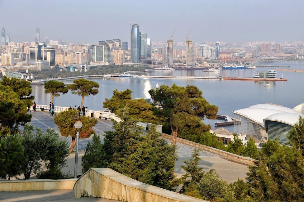 Baku, panorama miasta
