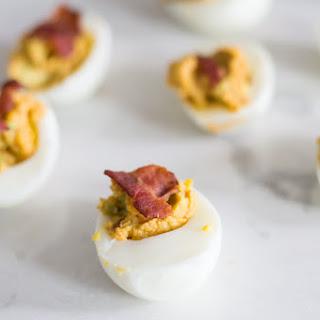 Spicy Avocado Devilled Eggs (KETO) Recipe