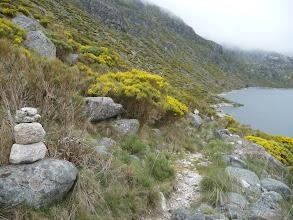 Photo: El camino que rodea a la Laguna