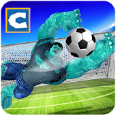 Superhero Soccer Challenging Game