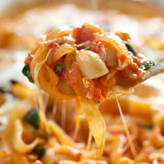 Simple Veggie Pasta Bake.