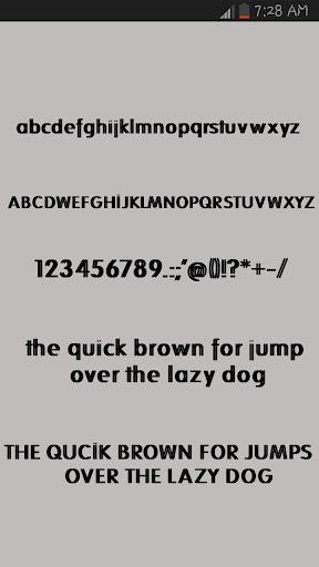 Fashion Fonts Installer