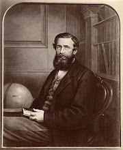 Photo: Old photograph of the well known portrait in oils (289 mm x 225 mm) of Wallace in c. 1869 which is in the National Portrait Gallery, London (NPG 1765). The original portrait was painted by an unknown artist over a photograph by Wallace's brother-in-law Thomas Sims. It was donated by Wallace's children William and Violet in 1916. Scanned with permission from the original print owned by the Wallace family. Copyright of scan: A. R. Wallace Memorial Fund & G. W. Beccaloni.