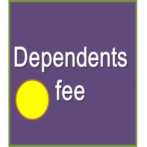 dependent fee calculator