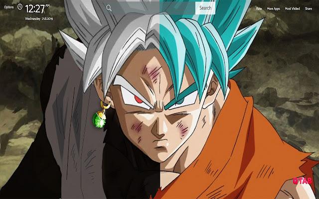Goku Wallpapers Theme |GreaTab