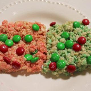 Christmas Rice Krispie Treats Recipe