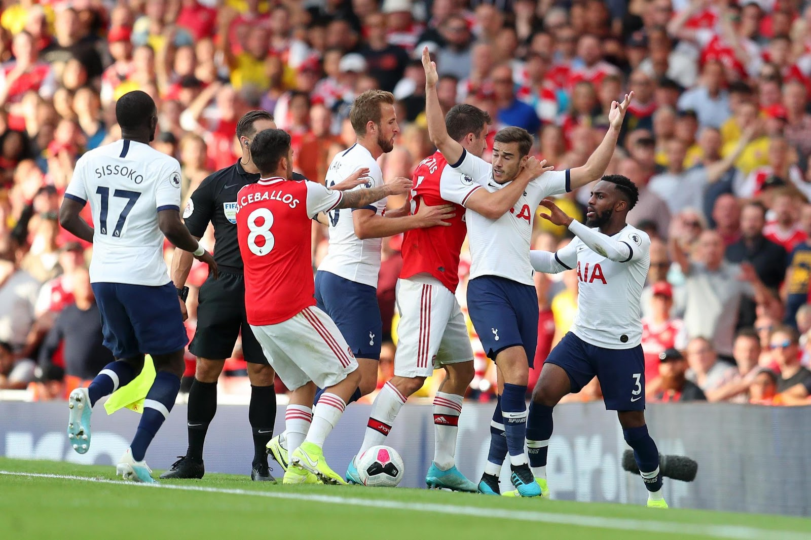 Арсенал - Тоттенхэм 2:2 • 01.09.2019