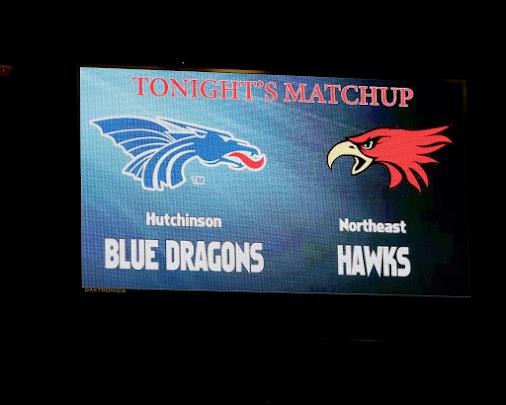 Hutch CC vs Northeast Hawks B-ball