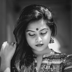 Face Face** by Anuruddha Das - People Portraits of Women ( face, girl, kolkata, woman, india, portrait,  )