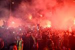 """22 Turkse fans aangehouden in Brugge: """"Knuppels en pyrotechnisch materiaal"""""""
