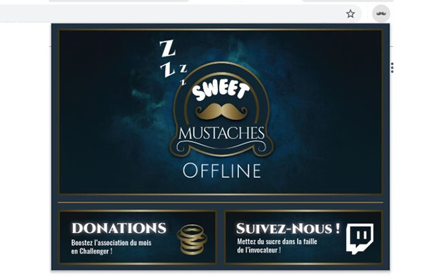 Extension Live de SweetMustaches