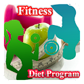 Weekly fitness & Diet Program icon