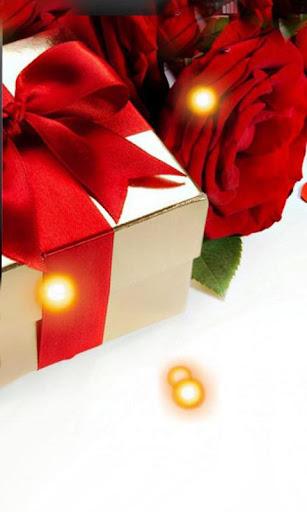 Love Roses Gift live wallpaper