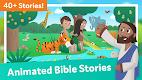 screenshot of Bible App for Kids: Interactive Audio & Stories