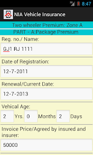 Vehicle Insurance Calculator App Download For Android 2