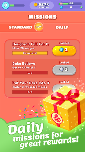 Merge Bakery -  Idle Dessert Tycoon Clicker Game - screenshot