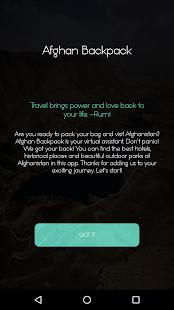 Afghan Backpack - náhled