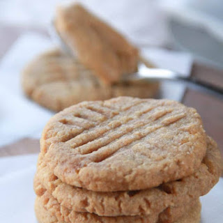 Gluten-Free Peanut Butter Cookies.