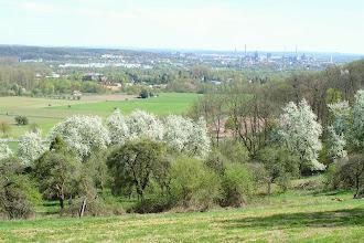 Photo: Im Hintergrund Dillingen