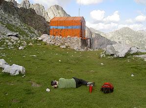Photo: Descansant de la pujada...
