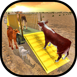 Farm Animals Transporter Truck for PC and MAC